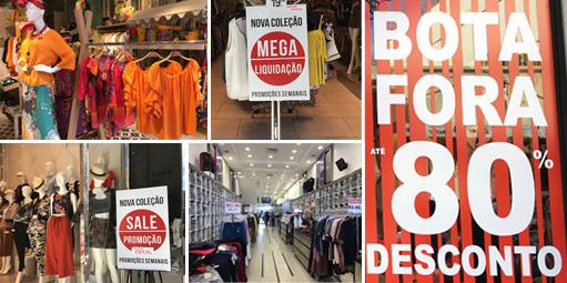 660dad5d9 Lojistas do Bom Retiro se unem e cortam preços em até 80%