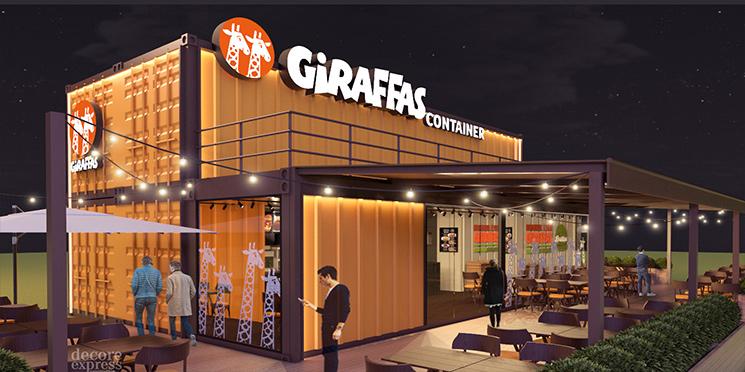 Resultado de imagem para giraffas container