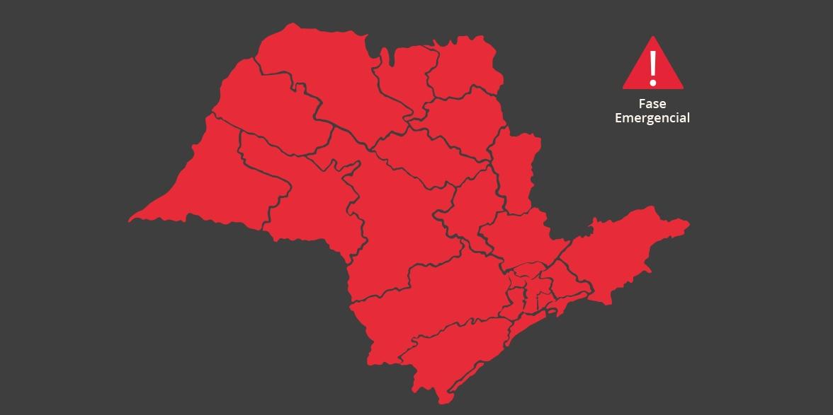 Governo paulista prorroga fase Emergencial até 11 de abril